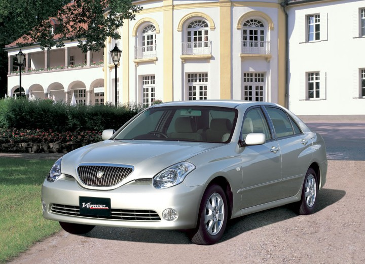 Toyota Verossa 2001 - 2004 Sedan #3
