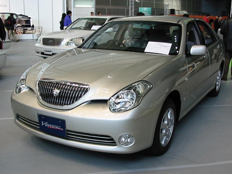 Toyota Verossa 2001 - 2004 Sedan #8