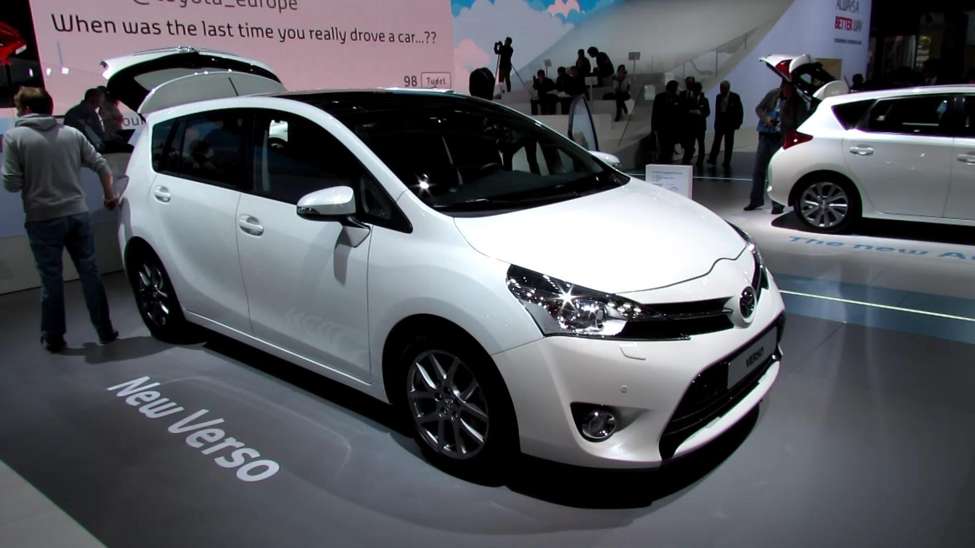Toyota Verso II 2012 - now Compact MPV #8
