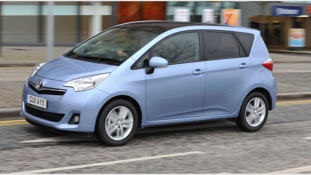 Toyota Verso-S 2010 - now Hatchback 5 door #7