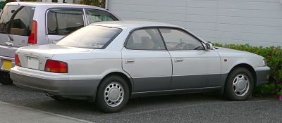 Toyota Vista III (V30) 1990 - 1994 Sedan-Hardtop #1