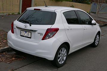 Toyota Vitz III (XP130) 2010 - 2014 Hatchback 5 door #6