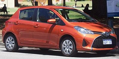 Toyota Vitz III (XP130) Restyling 2014 - now Hatchback 5 door #3