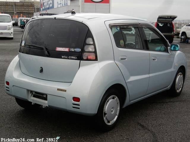 Toyota WiLL Cypha 2002 - 2005 Hatchback 5 door #3