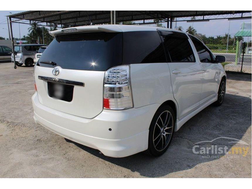 Toyota Wish I Restyling 2005 - 2009 Compact MPV #1
