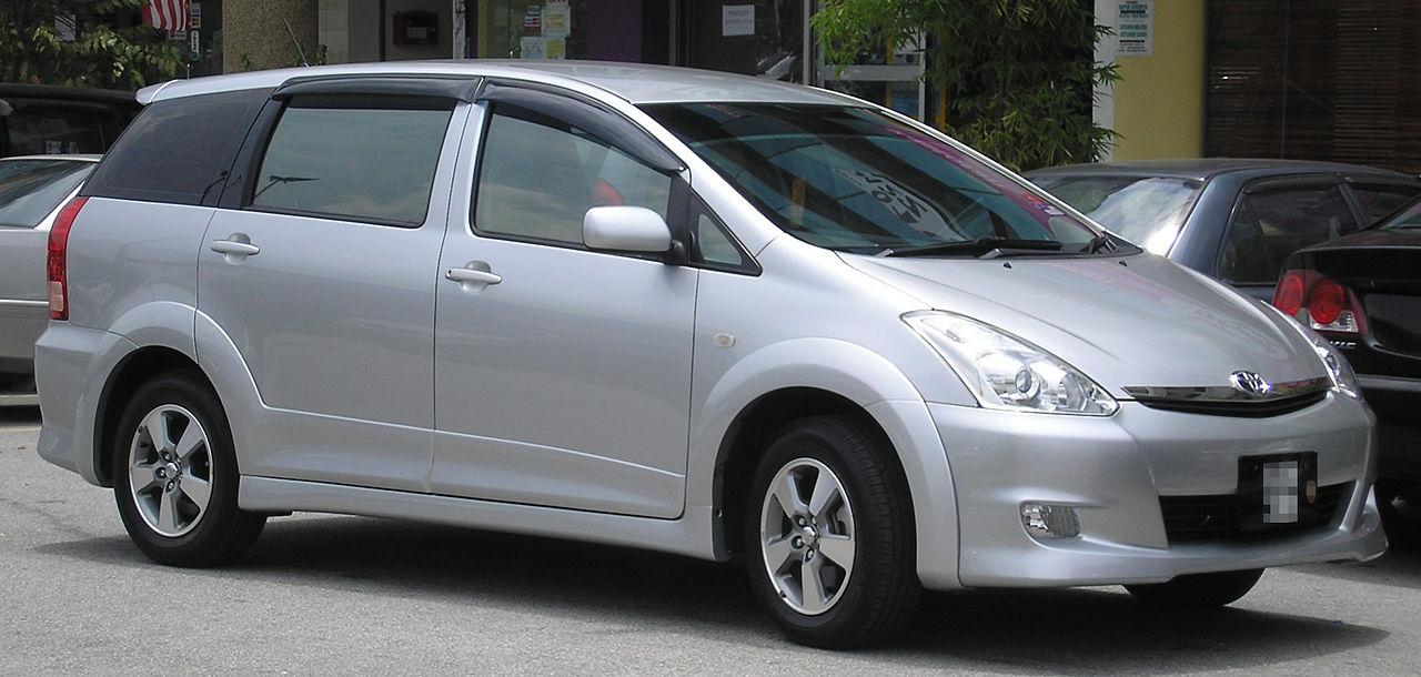 Toyota Wish I Restyling 2005 - 2009 Compact MPV #7