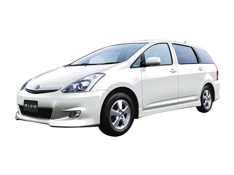 Toyota Wish I Restyling 2005 - 2009 Compact MPV #5