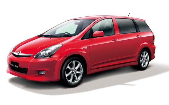 Toyota Wish I Restyling 2005 - 2009 Compact MPV #6