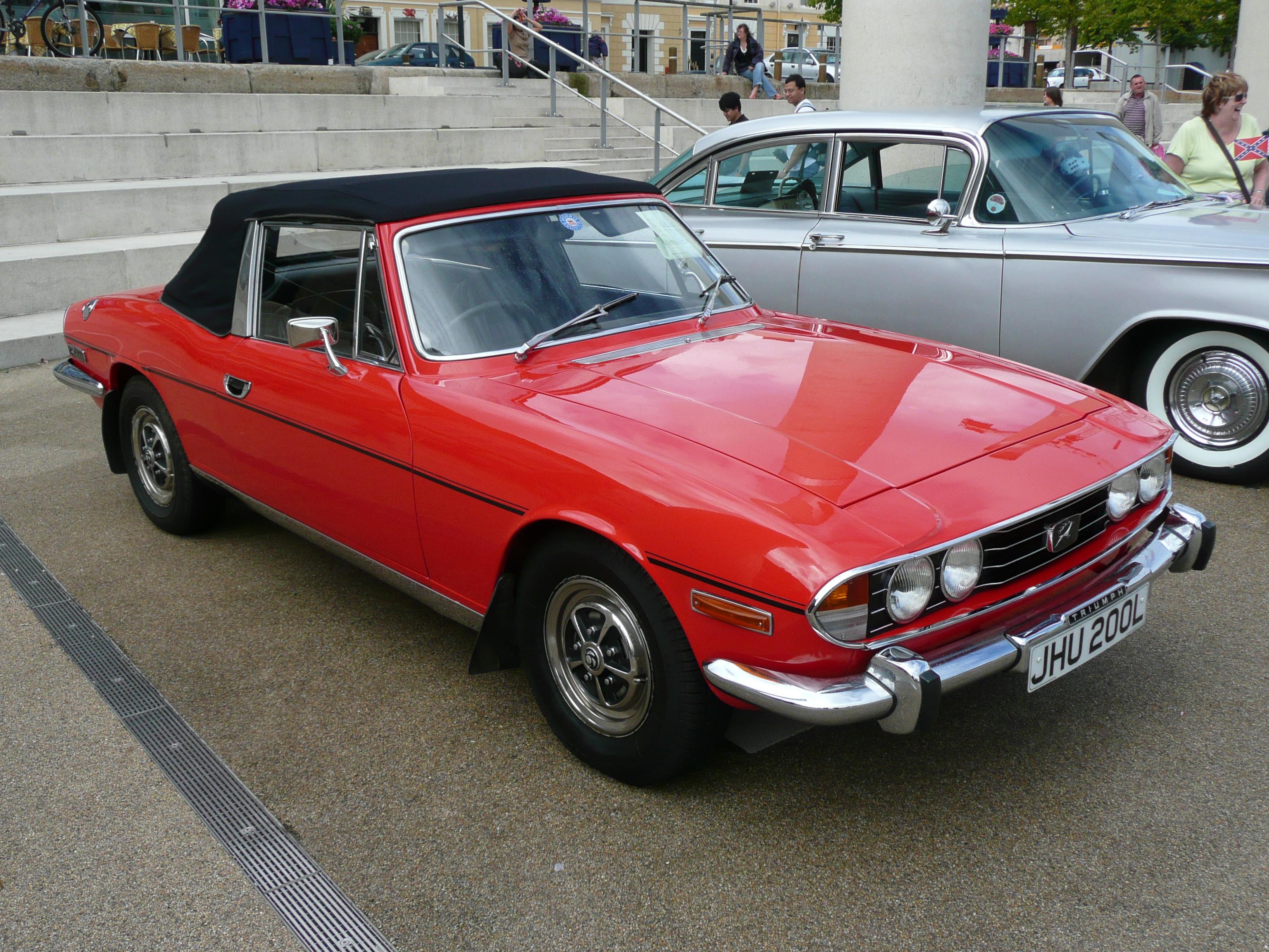 Triumph Stag 1970 - 1977 Cabriolet #1