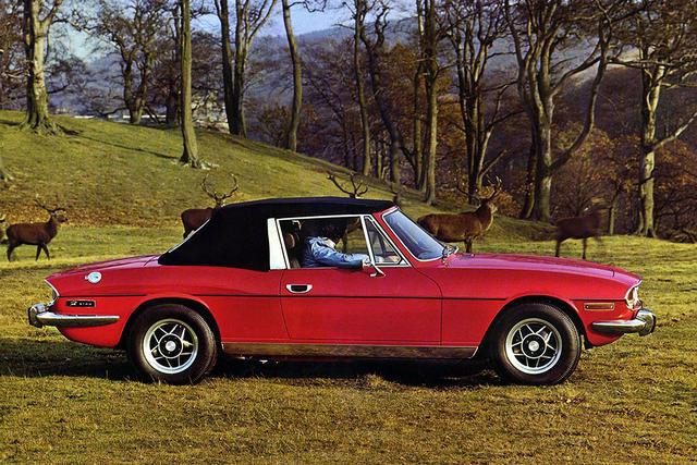 Triumph Stag 1970 - 1977 Cabriolet #6