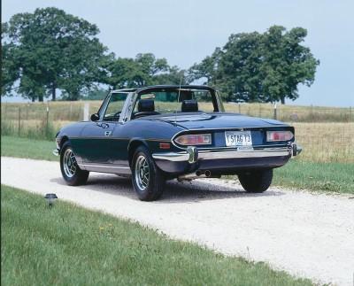 Triumph Stag 1970 - 1977 Cabriolet #7