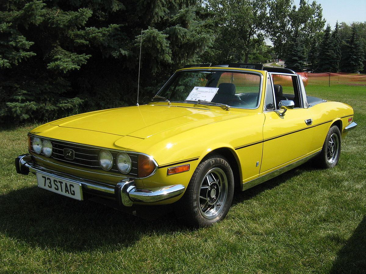 Triumph Stag 1970 - 1977 Cabriolet #8