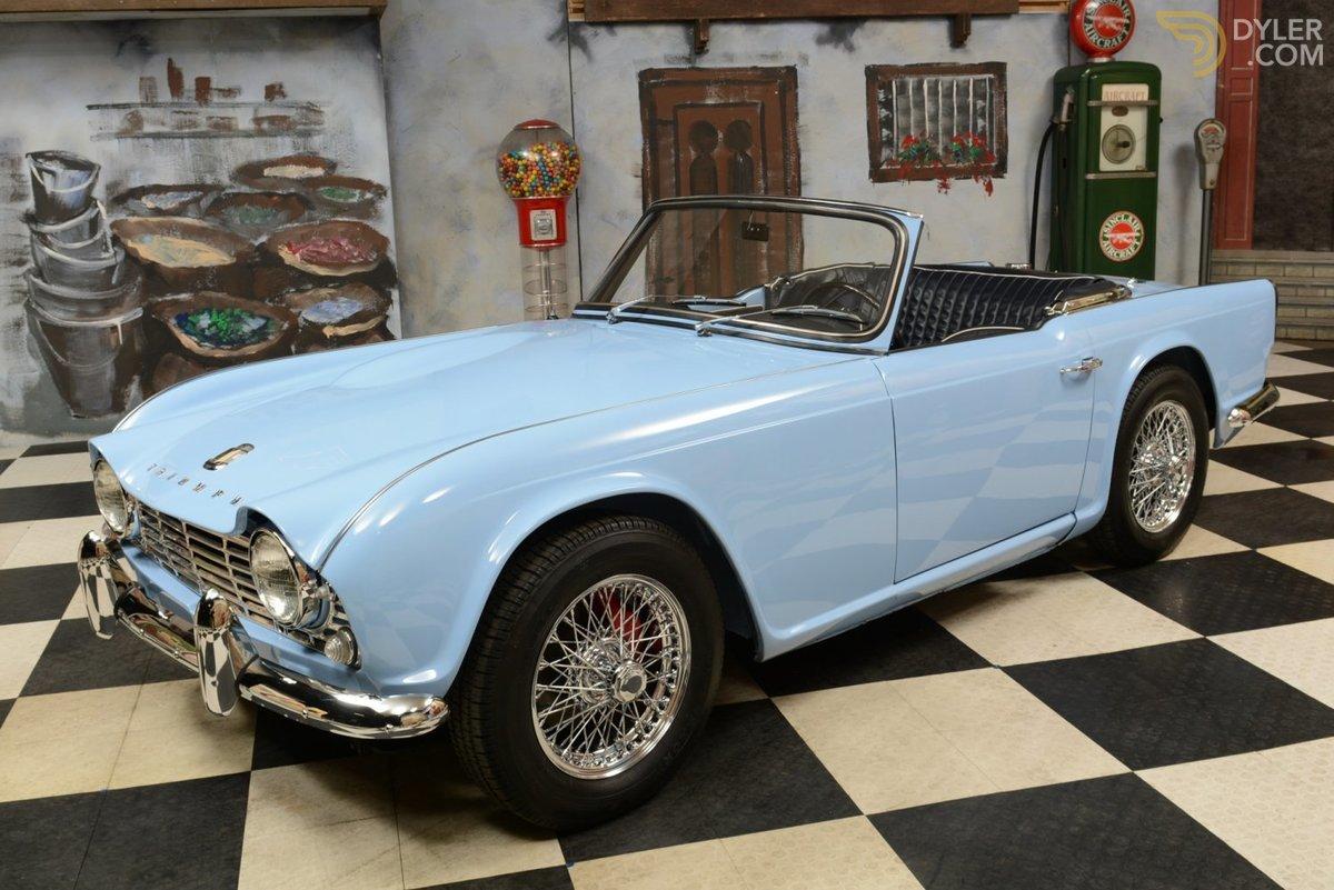 Triumph TR4 1961 - 1965 Roadster #5