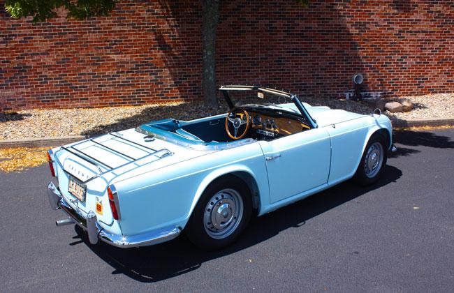 Triumph TR4 1965 - 1967 Roadster #8