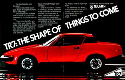 Triumph TR7 1975 - 1981 Coupe #7