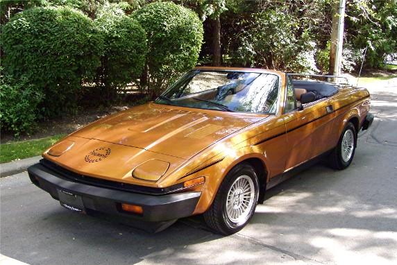 Triumph TR8 1980 - 1981 Roadster #7