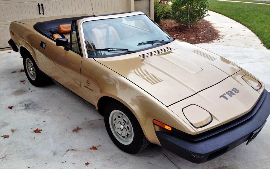 Triumph TR8 1980 - 1981 Roadster #4