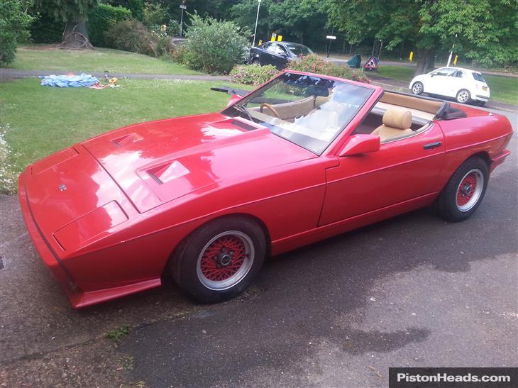 TVR Tasmin I 1980 - 1987 Cabriolet #5