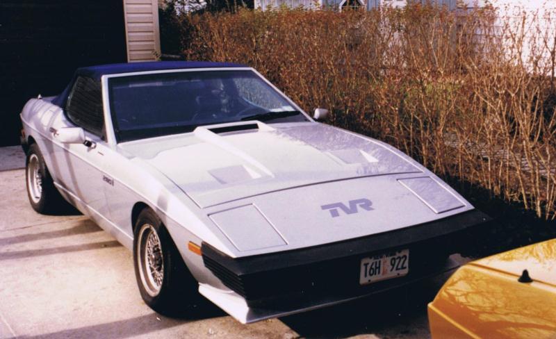 TVR Tasmin I 1980 - 1987 Cabriolet #8