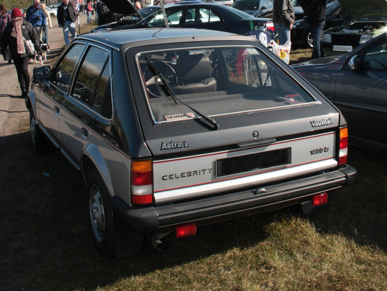 Vauxhall Astra D 1979 - 1984 Hatchback 3 door #1