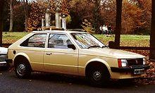 Vauxhall Astra D 1979 - 1984 Hatchback 3 door #3