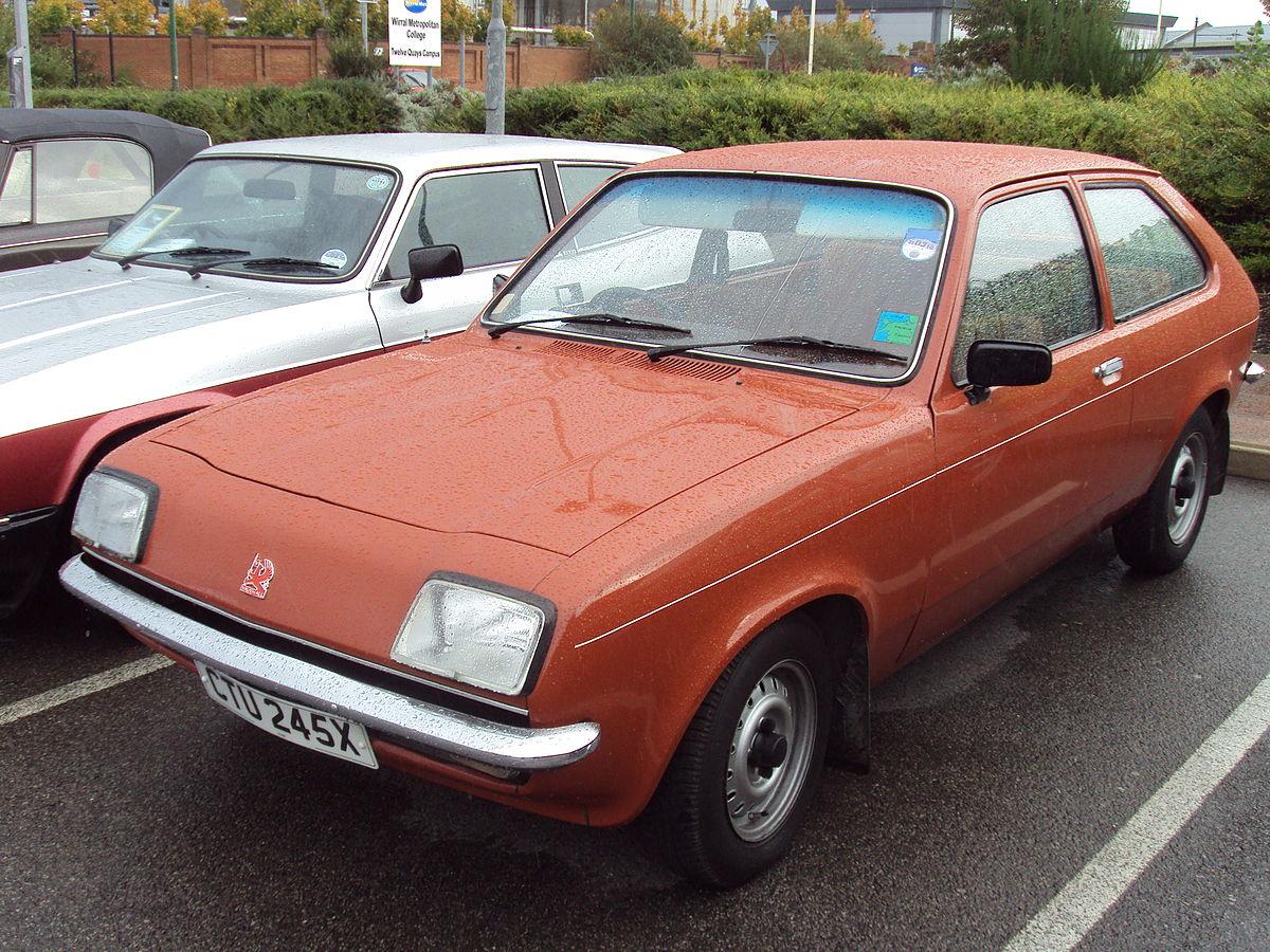 Vauxhall Chevette I 1975 - 1984 Sedan #8