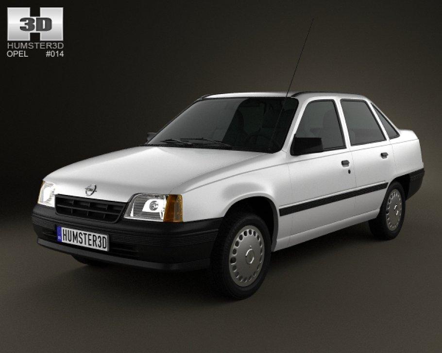 Vauxhall Astra E 1984 - 1991 Sedan #2