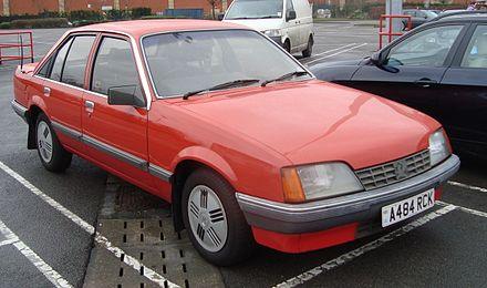 Vauxhall Carlton 1984 - 1994 Sedan #4