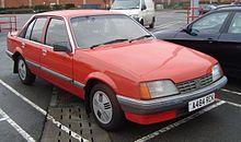 Vauxhall Carlton 1984 - 1994 Sedan #8