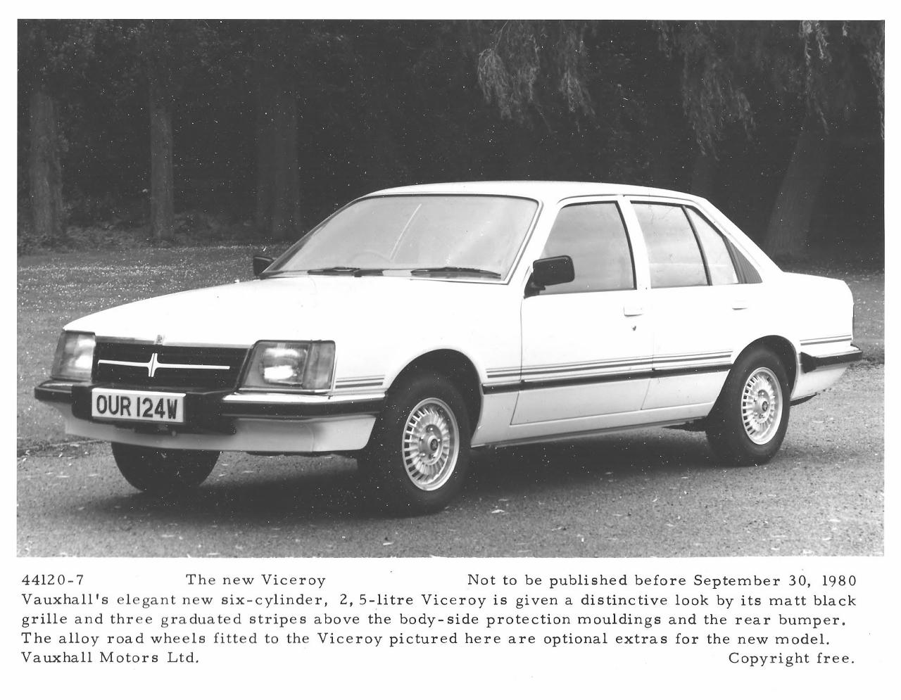 Vauxhall Viceroy 1978 - 1982 Sedan #1