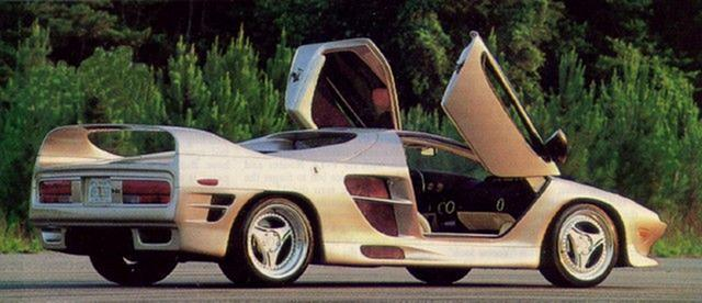 Vector M12 1996 - 2000 Coupe #5
