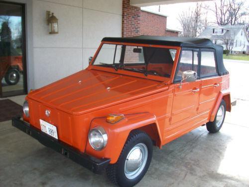 Volkswagen 181 1969 - 1979 Cabriolet #8
