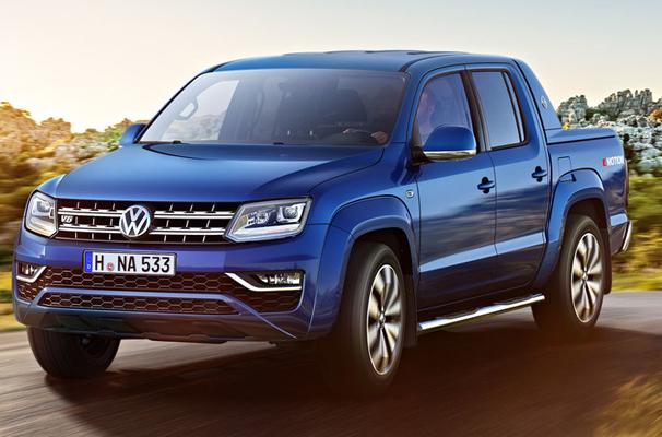 Volkswagen Amarok I Restyling 2016 - now Pickup #1