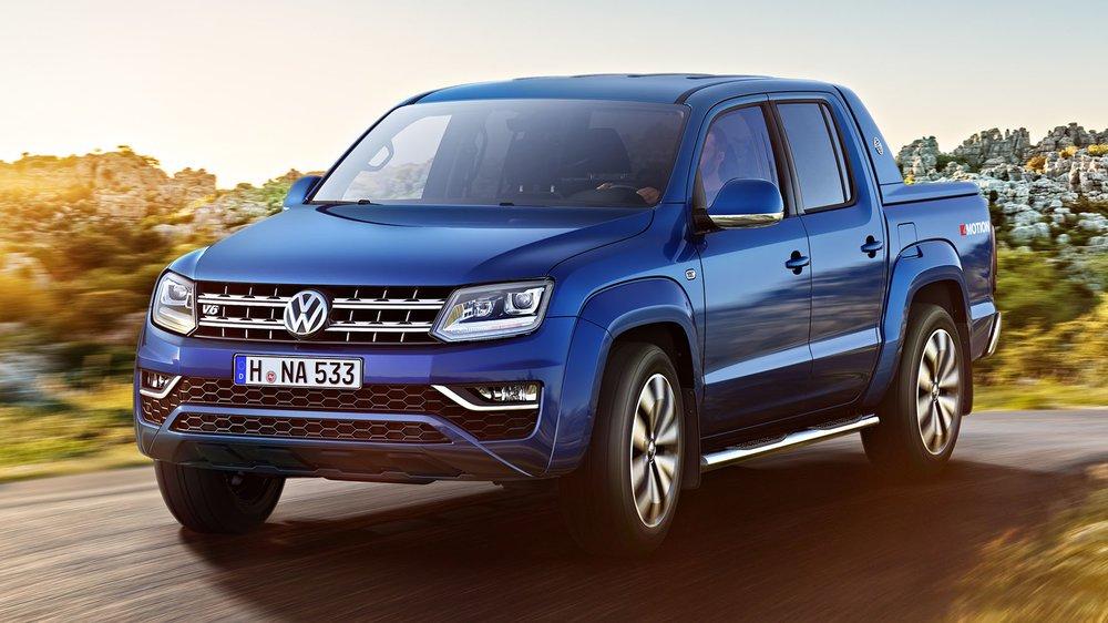 Volkswagen Amarok I Restyling 2016 - now Pickup #8