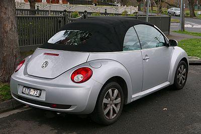 Volkswagen Beetle I (A4) Restyling 2005 - 2010 Cabriolet #2
