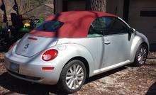 Volkswagen Beetle I (A4) Restyling 2005 - 2010 Cabriolet #5