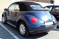 Volkswagen Beetle I (A4) Restyling 2005 - 2010 Cabriolet #7