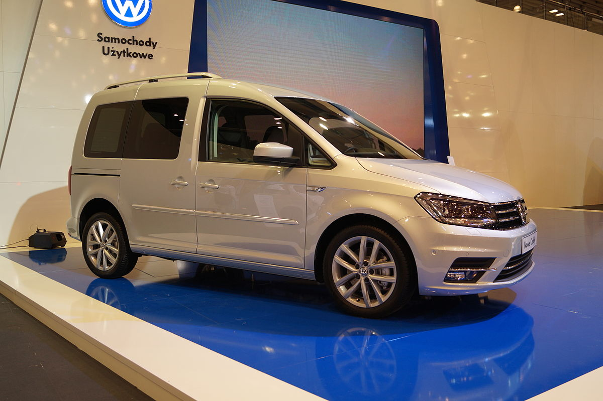 Volkswagen Caddy IV 2015 - now Compact MPV #8