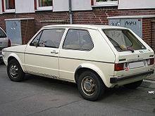 Volkswagen Golf I 1974 - 1983 Cabriolet #6