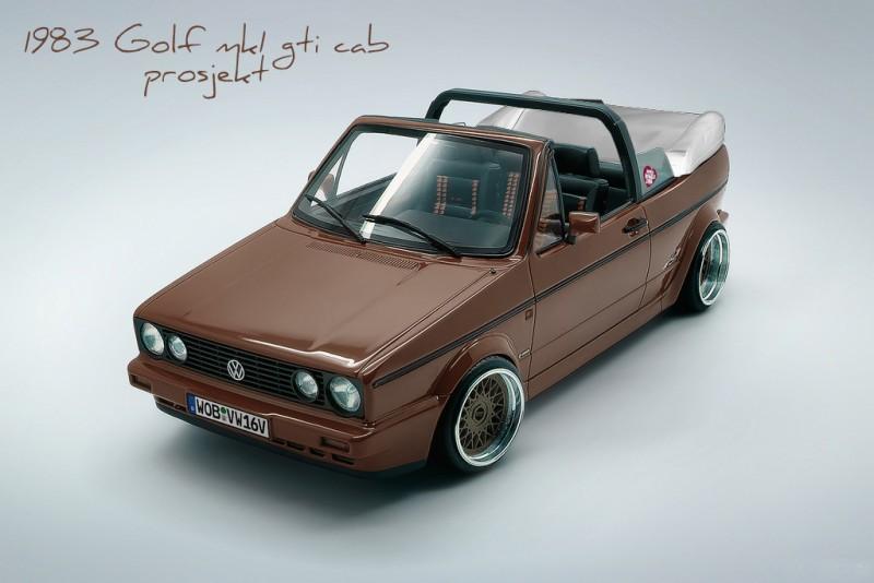 Volkswagen Golf I 1974 - 1983 Cabriolet #5