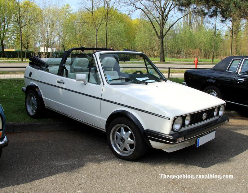 Volkswagen Golf I 1974 - 1983 Cabriolet #1