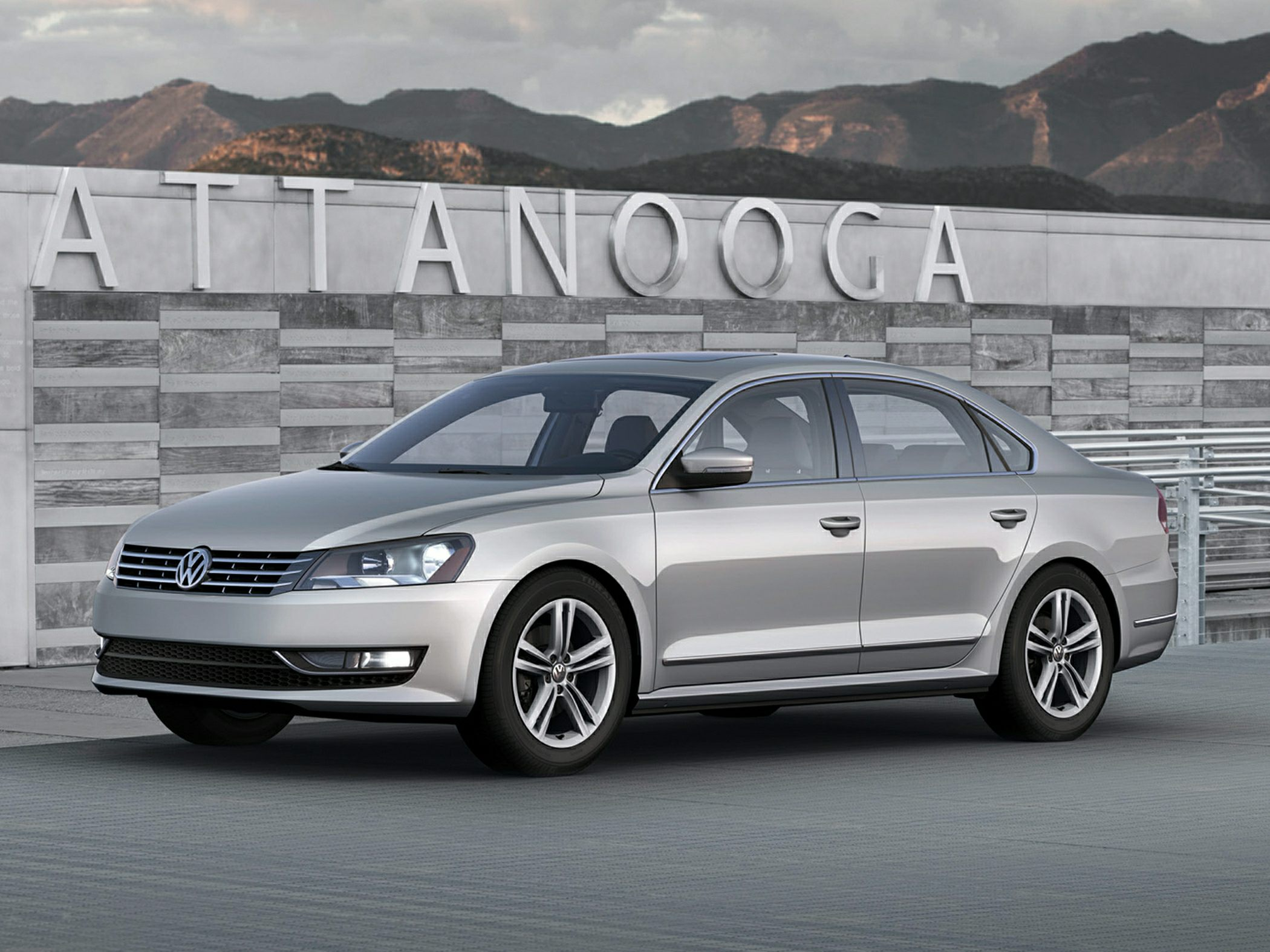 Volkswagen Passat (North America) 2011 - now Sedan #5