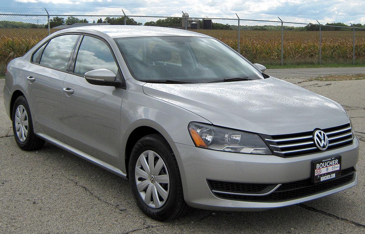 Volkswagen Passat (North America) 2011 - now Sedan #8