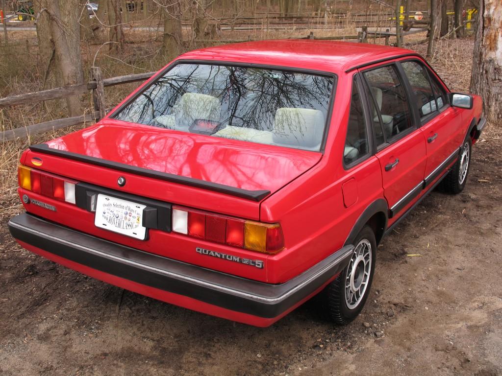 Volkswagen Quantum I 1985 - 1988 Sedan #5