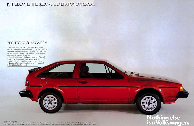 Volkswagen Scirocco II 1981 - 1992 Coupe #7