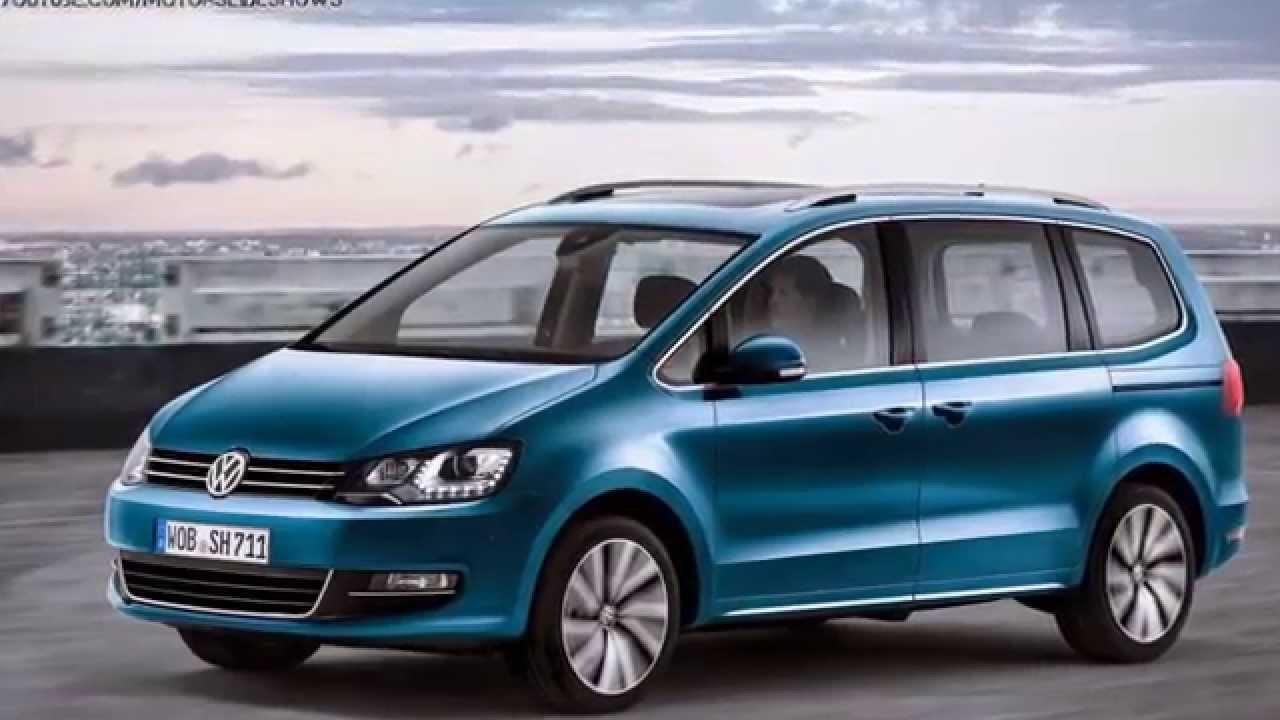 Volkswagen Sharan II Restyling 2015 - now Minivan #4