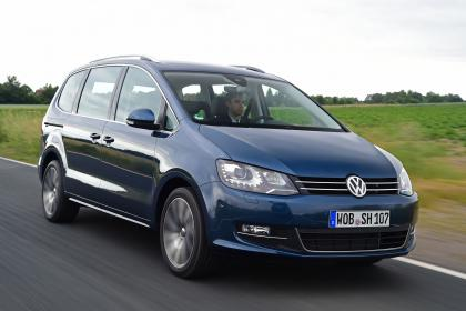 Volkswagen Sharan II Restyling 2015 - now Minivan #3