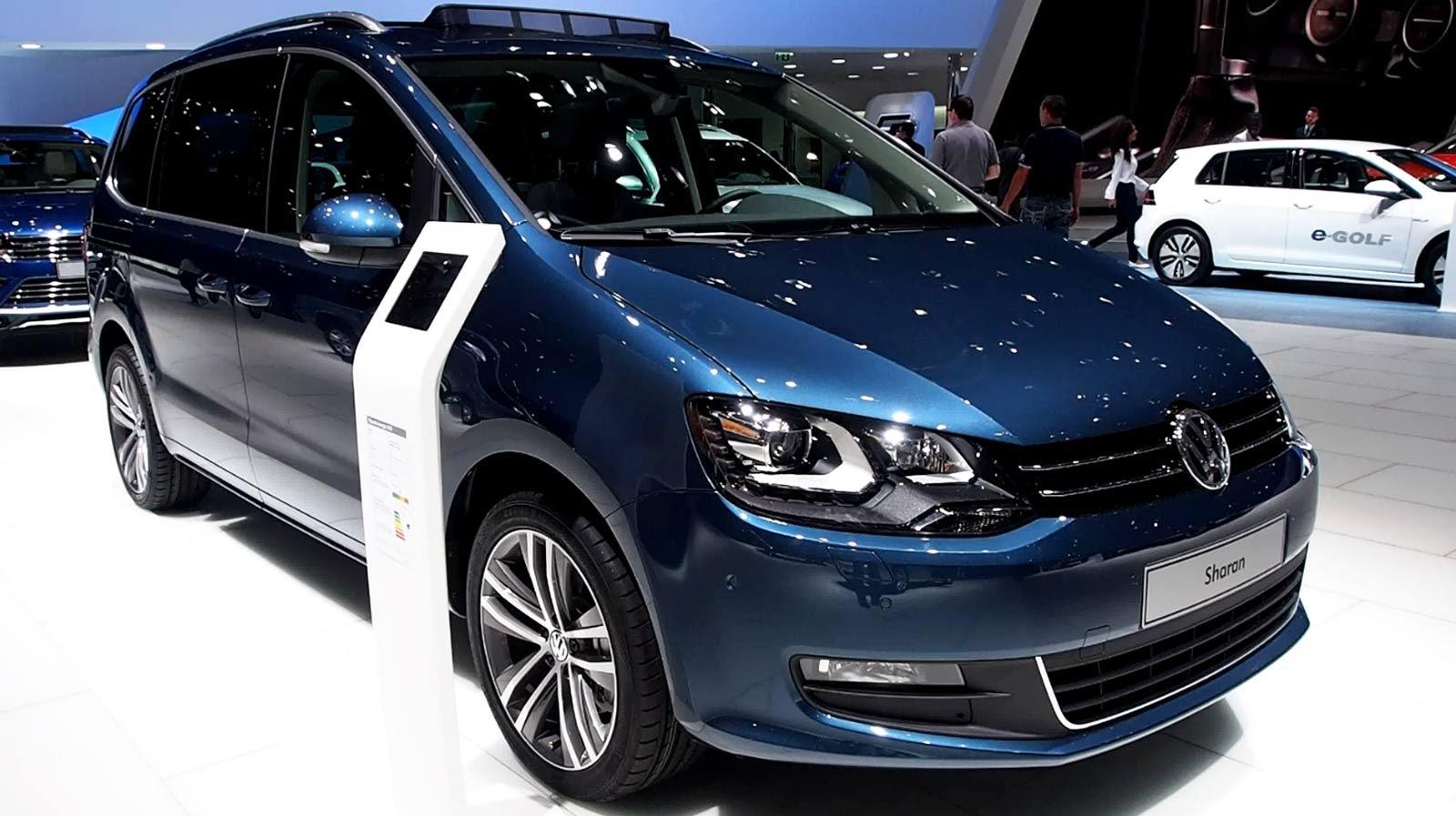 Volkswagen Sharan II Restyling 2015 - now Minivan #2