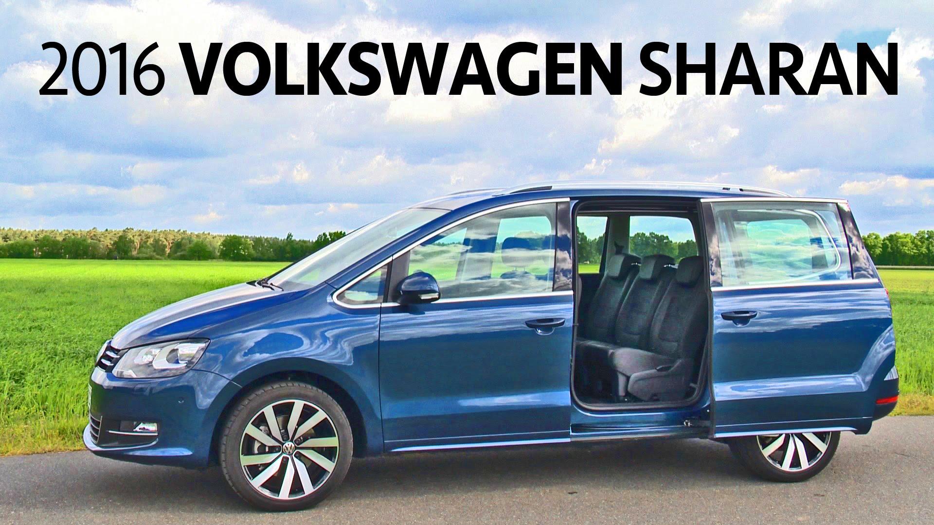 Volkswagen Sharan II Restyling 2015 - now Minivan #6