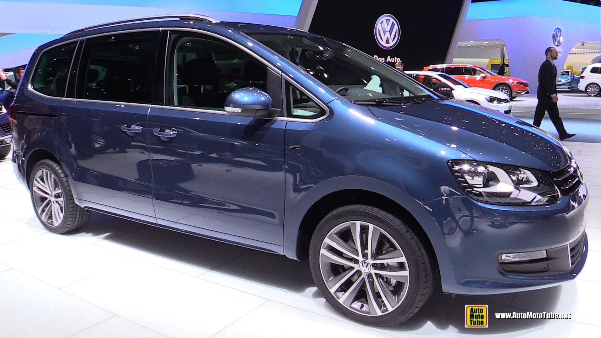 Volkswagen Sharan II Restyling 2015 - now Minivan #8